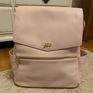 Freshly Picked pink classic diaper bag